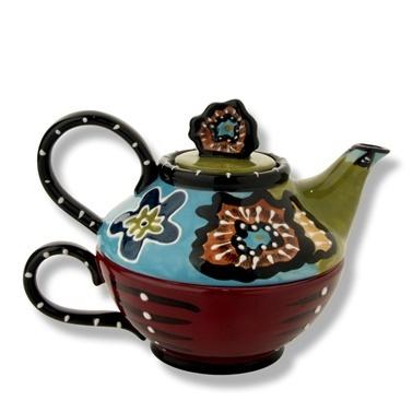Vitale Cambria Dekoratif Çaydanlık Renkli